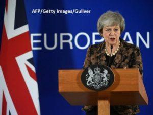 """Declarație surpriză din partea Theresei May Marea Britanie ar putea """"să nu mai părăsească UE niciodată"""", dacă parlamentarii resping acordul negociat, Londonezul - Romani in UK"""