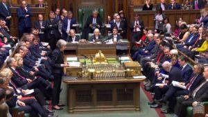 Acordul privind Brexitul respins pentru a doua oară de Parlamentul de la Londra Parlamentul Regatului Unit a respins marţi seara, Londonezul - Romani in UK