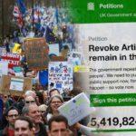 Guvernul britanic respinge petiţia semnată de aproape şase milioane de persoane care cer anularea Brexitului