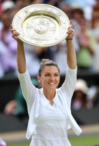Simona Halep scrie istorie în sportul românesc fiind prima româncă ce câștigă Grand Slamul londonez, Londonezul - Romani in UK