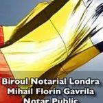 Mihail Florin Gavrila – Biroul Notarial Londra – Notar Public – Notar Public Londra – Notar Londra