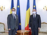 Ministrul afacerilor externe Bogdan Aurescu, întâlnire cu Ambasadorul Regatului Unit al Marii Britanii în România, Andrew Noble