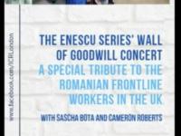 Concert-omagiu pentru românii din prima linie care lucrează în Marea Britanie, la Londra