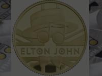 Elton John a devenit al doilea artist onorat de The Royal Mint – Monetăria Regală britanică după formația Queen