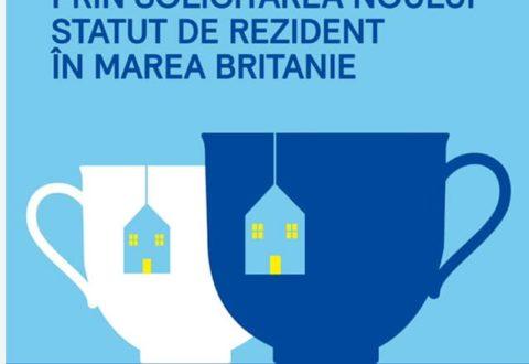 Românii care vor să obțină statutul de rezident în Marea Britanie, mai au la dispoziție doar un an pentru înregistrare