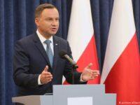 Președintele Poloniei a fost testat pozitiv cu COVID-19