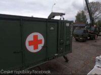 Armata cehă pregăteşte construirea unui spital de campanie la Praga