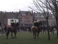 Proteste violente în Amsterdam