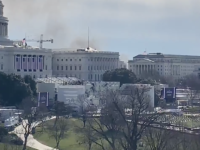 Alertă de securitate la Capitoliu din cauza unui incendiu