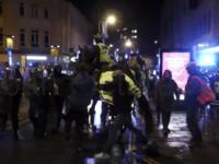 Protest violent la Bristol.