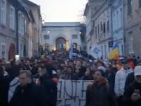Proteste de amploare în România. Mii de oameni protestează împotriva restricțiilor anti COVID