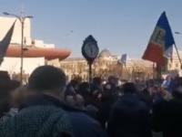Proteste în București față de noile restricții impuse de autorități