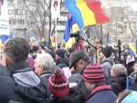 Proteste în București faţă de măsurile restrictive impuse de pandemia COVID