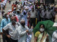 India, pe podiumul mondial la infectări şi la decese
