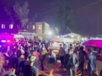 Incendiu într-un spital Covid din Irak. Cel puțin 82 de oameni au murit