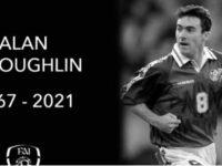 Fostul internaţional irlandez Alan McLoughlin a încetat din viaţă
