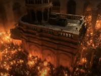 Lumina Sfântă s-a aprins la Sfântul Mormânt de la Ierusalim