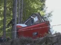 Grav accident de telecabină în Italia: 13 morţi şi doi răniţi grav