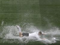 Cu o zi înainte de primul meci de la Euro, programat la București, terenul a fost inundat