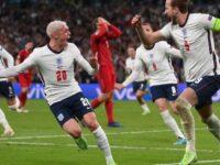 Anglia s-a calificat în finală, după 2-1 cu Danemarca