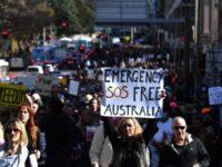 Manifestaţii anti-lockdown în Melbourne şi Sydney