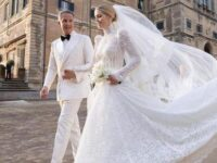 July 24, 2021. While not Royalty, we thought we'd share some very nice Spencer family news. Lady Kitty Spencer, a 9x great granddaughter of HM King Charles II, niece of Diana, Princess of Wales and 1st cousin of HRH Prince William, Duke of Cambridge married fashion tycoon Michael Lewis at Villa Aldobrandini in Frascati, Italy.