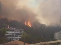 Grecia, Turcia și Italia, afectate de incendii