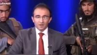 Jurnaliștii din Afganistan cer protecție internațională după ce imagini cu un prezentator TV înconjurat de talibani înarmați au devenit virale
