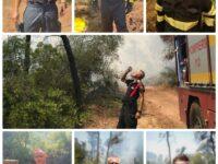 Pompierii români care ajută Grecia să stingă incendiile, lăudați pentru efortul și organizarea lor