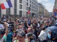 Manifestaţii în Italia și Franța împotriva certificatului verde de vaccinare