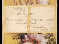 O felie de tort de la nunta lui Charles cu prinţesa Diana, din 1981, a fost vândută cu 1.850 de lire