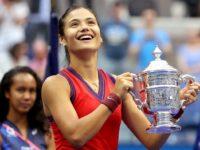 Emma Răducanu, campioană la US Open 2021