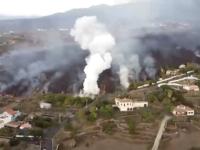Erupţia vulcanului din La Palma continuă