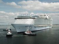 """""""Minunea Mărilor"""", cel mare vas de croazieră din lume, va porni în primele sale călătorii în Europa în 2022"""